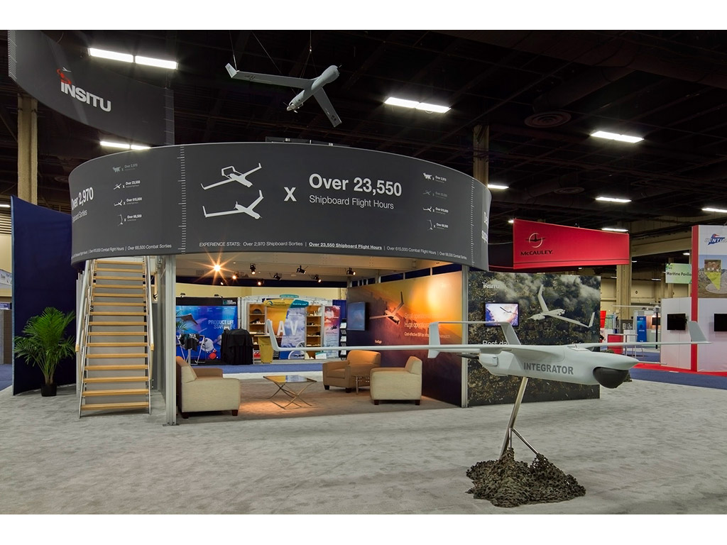 Trade Show Planning: RE-9032 / Large Double Deck Rental Display
